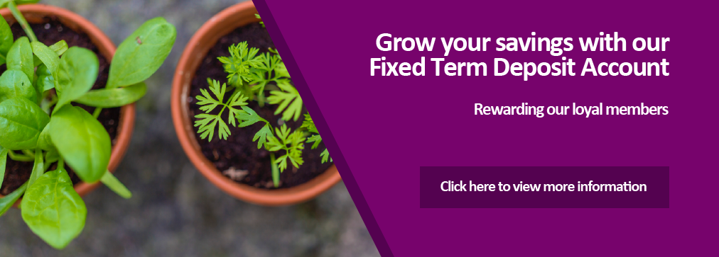 Fixed Term Deposit Account helps your savings grow