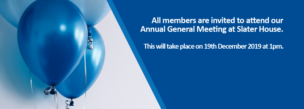 Our Annual General Meeting is taking place on 19th December.
