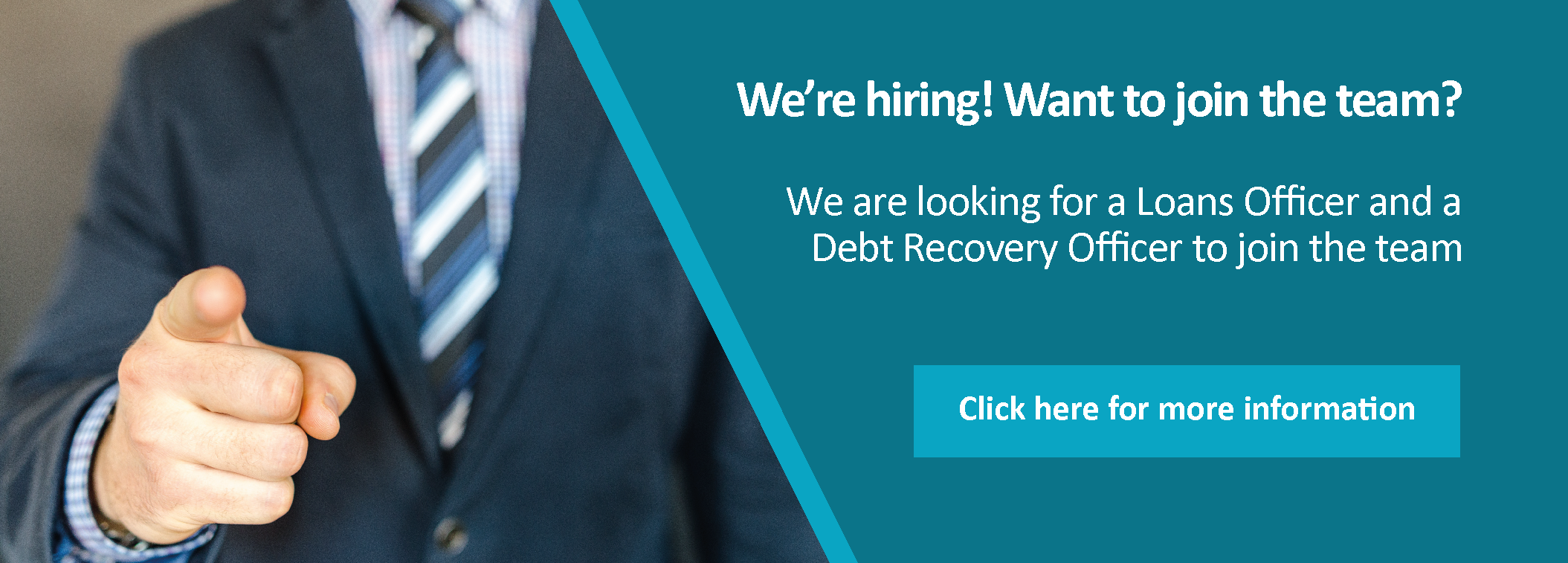 Job Vacancies - Loans Officer and Debt Recovery Officer